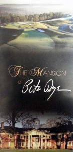 The Mansion at Pete Dye brochure cover