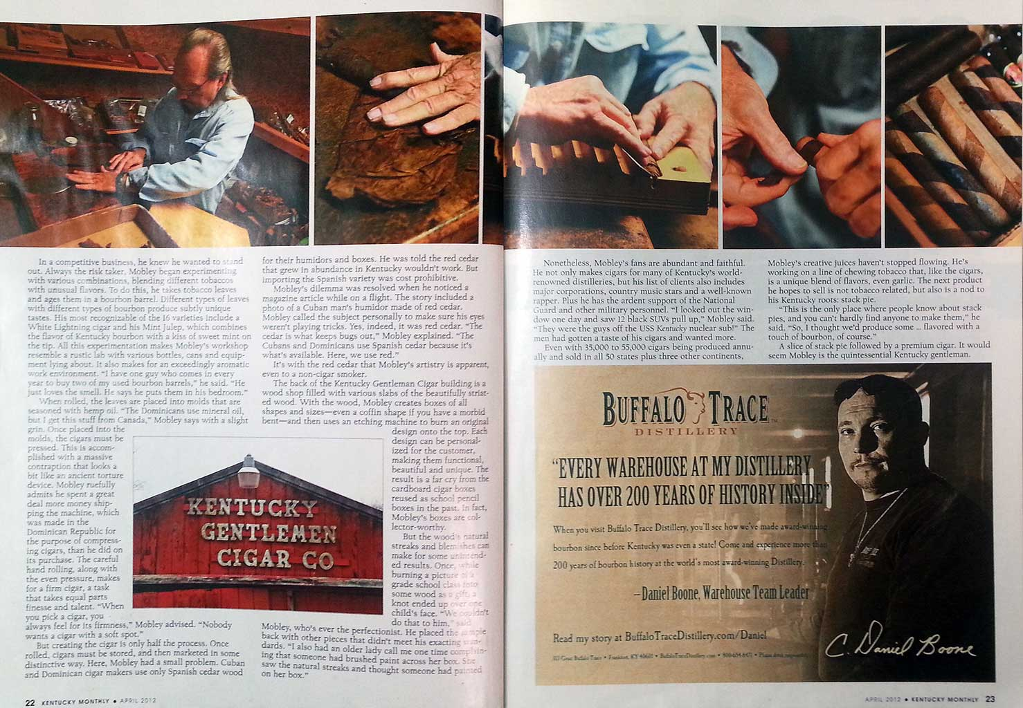 Keep on Rollin' - Bourbon barrel-aged stogies - Kentucky Monthly Magazine