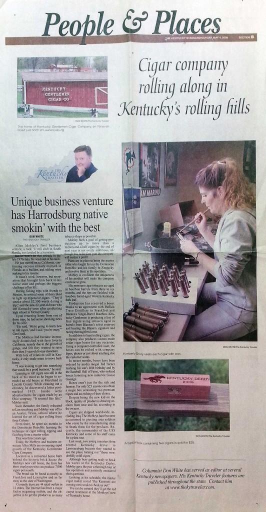 Unique business venture has Harrodsburg native smokin' with the best